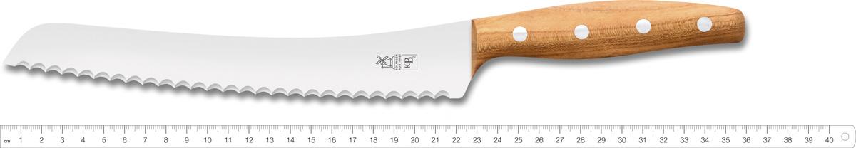 Нож для хлеба Windmuhlenmesser K-B2 Brotmesser, 225 мм (абрикос)