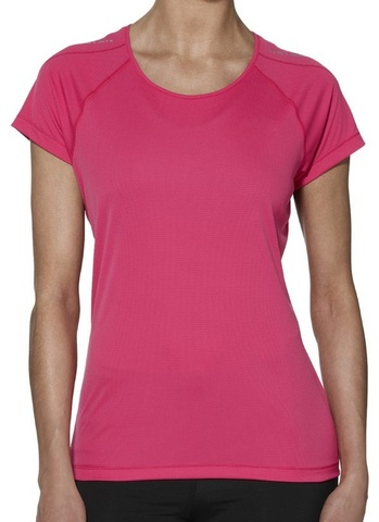 Женская футболка Asics SS Top для бега Pink
