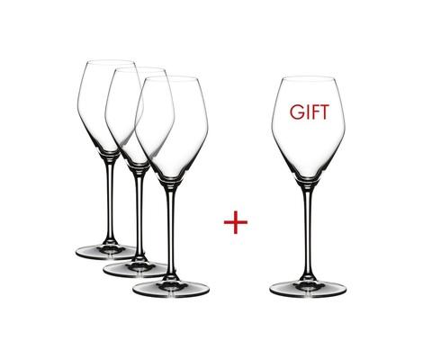 Набор из 4-х бокалов для шампанского Rose Champagne/Rose Wine Pay 3 Get 4 322 мл, артикул 4411/55 Серия Extreme