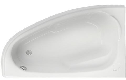 Акриловая ванна JOANNA 150 левая