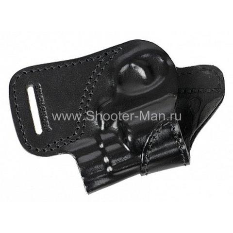 Кобура кожаная для револьвера Гроза Р-02 ( модель № 10 ) Стич Профи