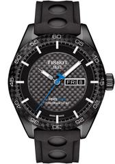 Мужские швейцарские наручные часы Tissot T-Sport PRS 516 T100.430.37.201.00