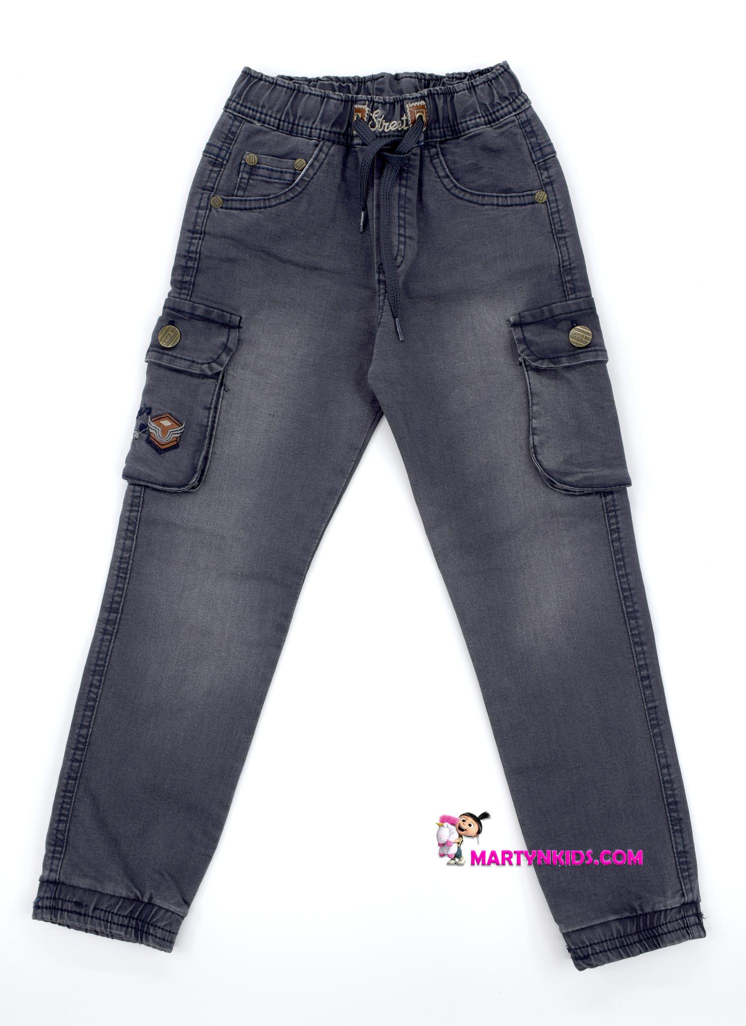 2338 джинсы джоггеры Street