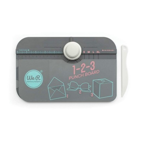 Доска для изготовления конвертов, коробочек и бантов 1-2-3 Punch Board
