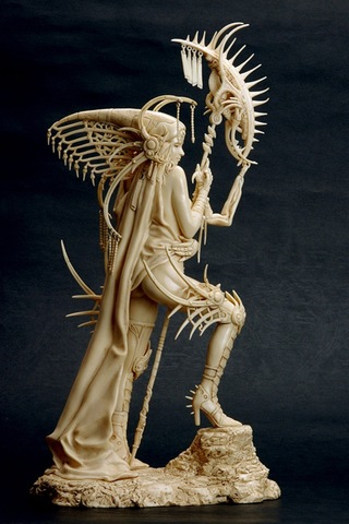 Fantasy Figure Gallery - Akira (Ivory Version) Statue