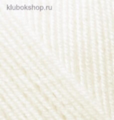 Пряжа Alize Superlana KLASIK 450 Жемчужный, фото