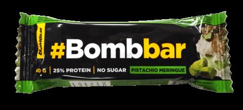 Батончик глазированный `BOMBBAR` Фисташковая меренга 40 г