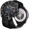 Купить Мужские швейцарские наручные часы Tissot T-Sport PRS 516 T100.430.37.201.00 по доступной цене