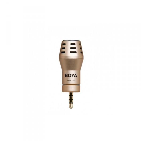 Всенаправленный конденсаторный микрофон BOYA BY-A100 для для iPhone, iPad, Ipod Touch