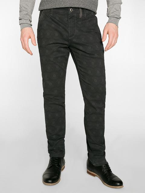 BPT001324 брюки мужские, темно-серо/черные