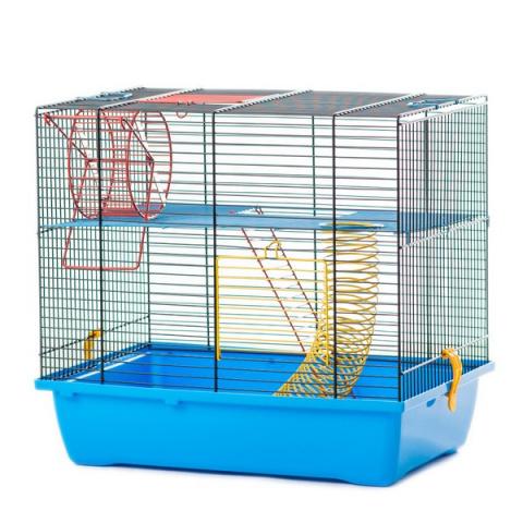 Inter-Zoo клетка для грызунов TEDDY LUXI с комплектацией 430*280*385