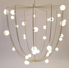 Cherry Bomb Cage Chandelier, Lindsey Adelman