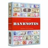 Альбом на 300 банкнот, тематическая обложка, 100 вшитых прозрачных листов на 3 ячейки