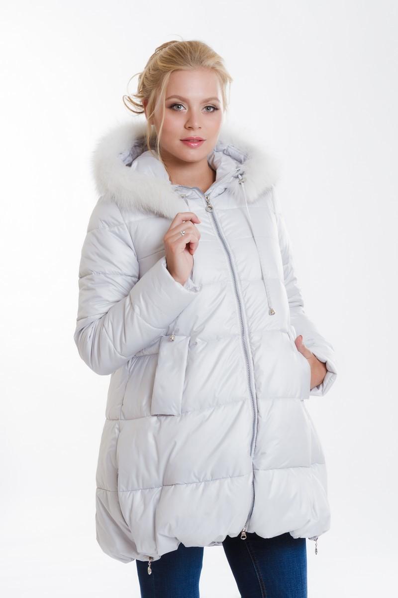 Куртка для беременных 08019 серый