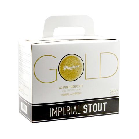 Экстракт Muntons GOLD - Imperial Stout (3 кг)