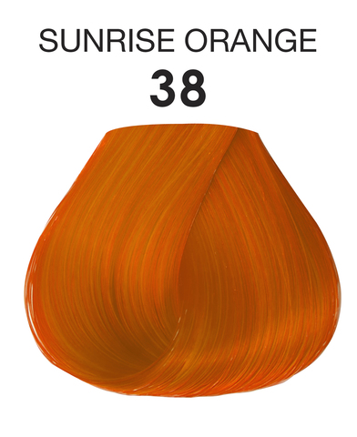 Краска для волос Creative Image ADORE 38 Sunrise Orange