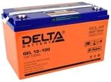 Аккумулятор Delta GEL 12-100  ( 12V 100Ah / 12В 100Ач ) - фотография
