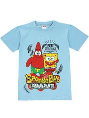 1178-20 футболка детская, голубая