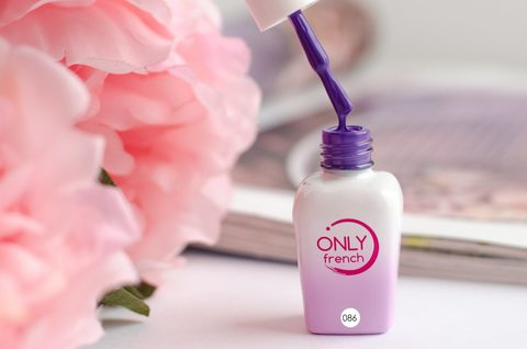 Гель-лак Only French, Violet Touch №086, 7ml