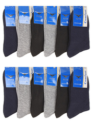 922 носки мужские, цветные 42-46 (12 шт)