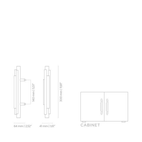 Мебельная ручка PullCast BRUBECK TW5002
