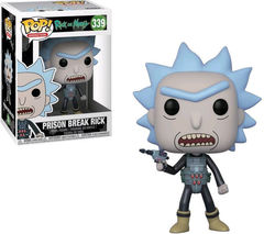 FUNKO-POP! ANIMATION: RICK & MORTY-PRISON ESCAPE RICK