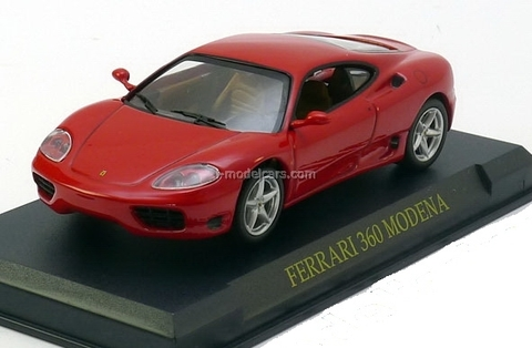 Ferrari 360 Modena red 1:43 Eaglemoss Ferrari Collection #1