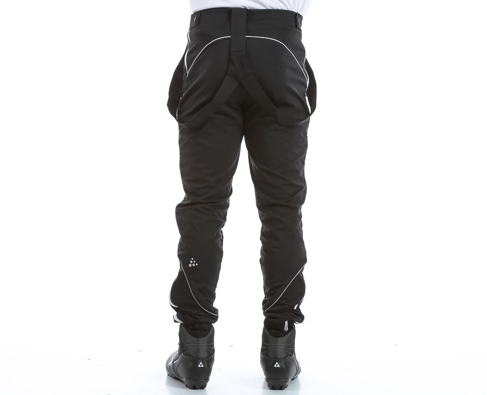 Мужской элитный лыжный костюм Craft High Function ZIP 1902269-2336-1902368 синий фото