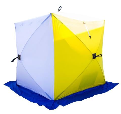 Палатка зимняя СТЭК КУБ-1 двухслойная