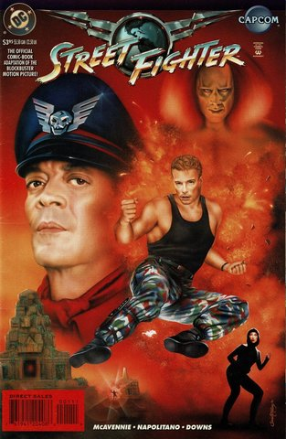 Street Fighter The Movie: The Comic Book