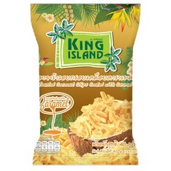 Кокосовые чипсы с карамелью, King Island