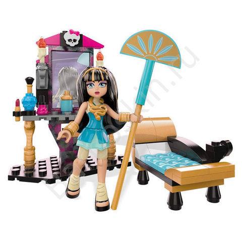 Игровой набор Monster High Туалетный столик Клео де Нил (Cleo de Nile) - Cleo's Gore-geous Vanity, Mega Bloks