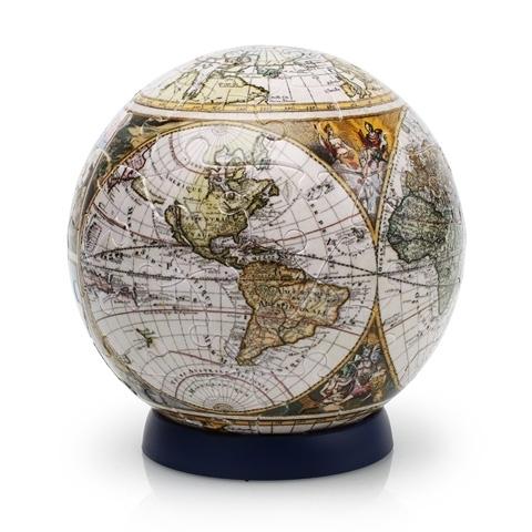 Шаровый 3D пазл Pintoo - Старая карта мира 60 деталей