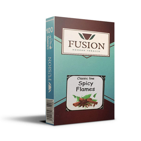 Табак Fusion Soft Spicy Flames 100 г