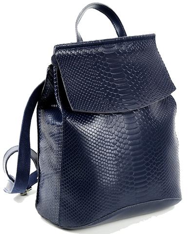 Рюкзак женский JMD Snake 3204 Синий