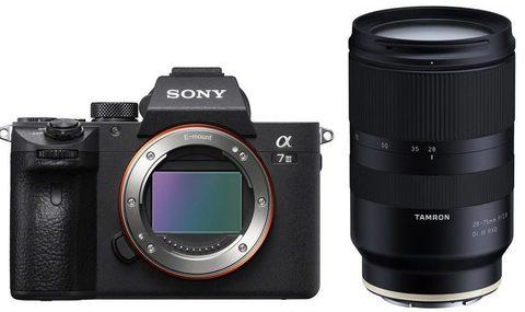 Sony Alpha ILCE-7M3 kit Tamron AF 28-75MM F/2.8 DI III RXD (A036S) Sony FE Гарантия производителя 3 года на фотоаппарат и 5 лет на объектив.