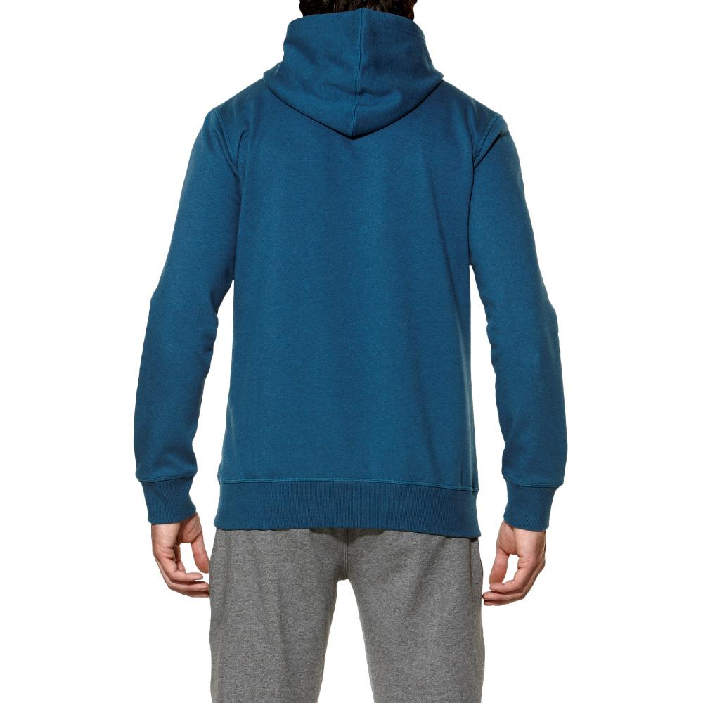 Мужская толстовка асикс Graphic Hoodie (125093 8125) синяя