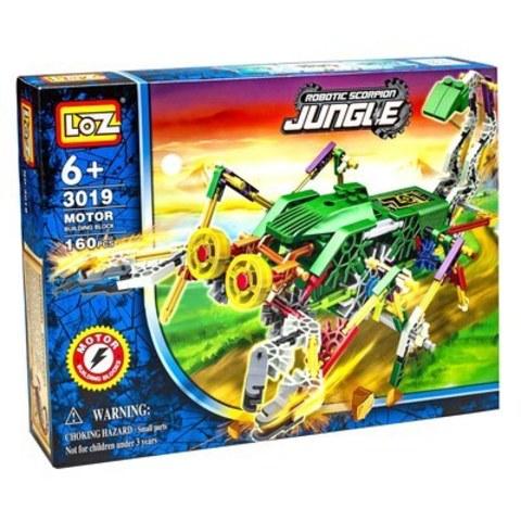 Электромеханический конструктор IRobot. Серия: Джунгли. Скорпионозавр