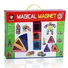 Магнитный конструктор 77 деталей Magical Magnet