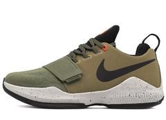 Кроссовки Мужские Nike Zoom PG 1 Khaki Black