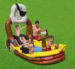Intex Детский игровой надувной центр Пиратский корабль, 292*218*196 см (170993)