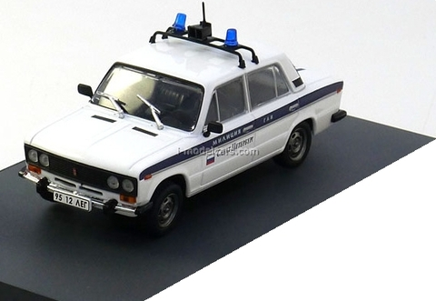 VAZ-2106 Lada Police James Bond Movie Car Goldeneye Altaya 1:43