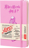 Блокнот Moleskine Limited Alice in Wonderland Pocket 90x140мм 192стр линейка розовый (LEAL01MM710)