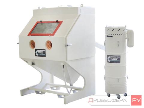 Пескоструйная камера КСО-130 ИФВМ с фильтром и вентилятором