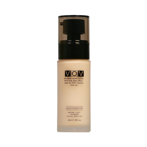 Тональная основа Vov Liquid Fondation 23 beige - Liquid Foundation 40ml.