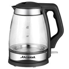 Чайник электрический 2000 Вт, 1,8 л АКСИНЬЯ КС-1000 черный