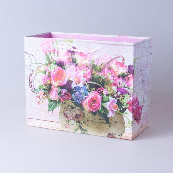Пакет подарочный бумажный 22,5*18*10см, 640296-8