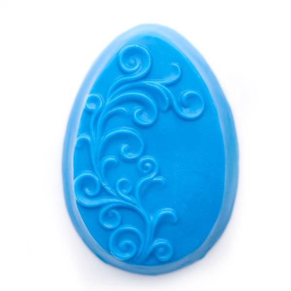 Форма для мыловарения Яйцо с орнаментом 2