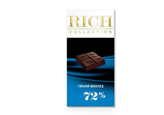Горький шоколад Rich, 70г
