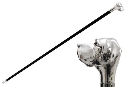 Трость мужская Pasotti Silver Labrador Cane, Италия.